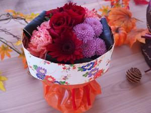 日比谷花壇そのまま飾れるブーケ花結び
