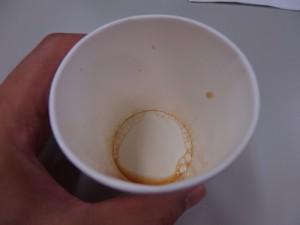 ジャコウネコのエクーアシベットコーヒー豆の試飲