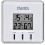 熱中症対策に必需品、温湿度計。大切なお父さん、お母さんの健康管理に。【送料無料メール便専用】 タニタ デジタル温湿度計 TT-550 ホワイト  価格 898円 (税込) 送料込。