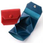 コンパクト好きのあの人へ【ATELIER Hab(アトリエハブ)】折り畳み財布。