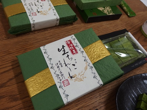 京都宇治伊藤久右衛門の抹茶生チョコレート